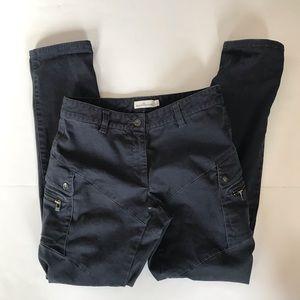 LL Bean Signature Blue Slim Straight Utility pants